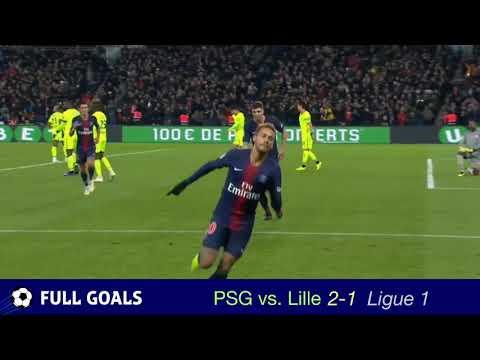 [NEW] PSG vs Lille 2-1 All Goals 11-2-18