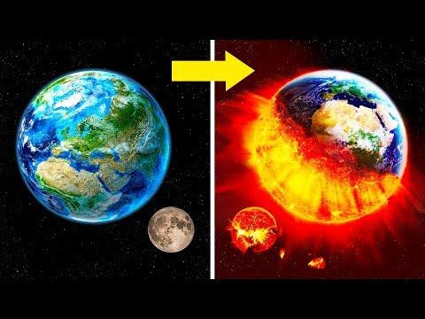 Was, wenn der Mond explodiert?