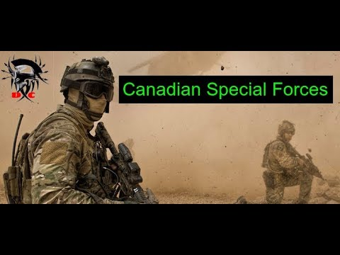 "Canadian Special Forces/CANSOFCOM// The Silent Professionals// ""Deeds, Not Words"""