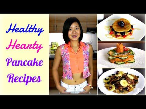 3 Hearty Pancake Recipes (Easy & Healthy)