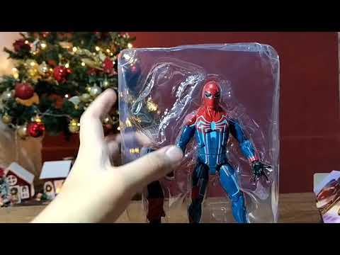 Unboxing Spiderman traje de velocidad   RGNE