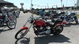 8. 061828 - 2008 Harley Davidson Softail Custom - Used Motorcycle For Sale