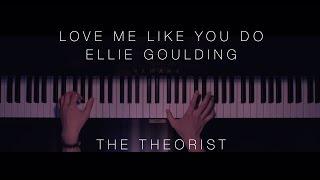 Video Ellie Goulding - Love Me Like You Do | The Theorist Piano Cover MP3, 3GP, MP4, WEBM, AVI, FLV Juli 2018