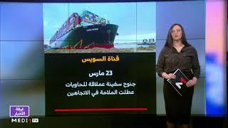 ملف .. إحصاء الخسائر الناجمة عن جنوح سفينة إيفر غيفين في قناة السويس
