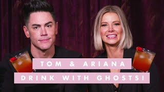 Tom Sandoval & Ariana Madix Get Drunk With a Ghost & Talk Sh*t About 'Vanderpump Rules' Cast | C by Cosmopolitan