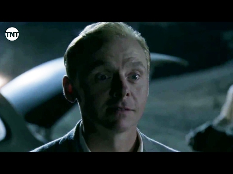Simon Pegg - Top of the World, Hecky | Mob City | TNT