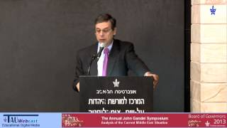 Danny Ayalon - Analysis of the Current Middle East Situation