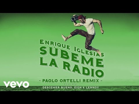 Subeme La Radio Paolo Ortelli Remix [Lyric Video]