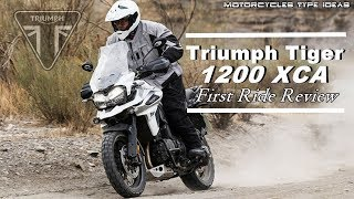 7. 2018 Triumph Tiger 1200 XCA  First Ride Review