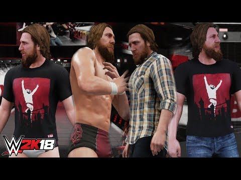 Video WWE 2K18 - Daniel Bryan 4 Attire DLC Mod download in MP3, 3GP, MP4, WEBM, AVI, FLV January 2017