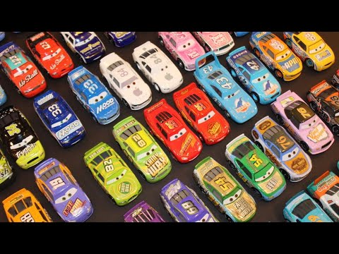 All Cars 1 & Cars 3 Piston Cup Stock Car Racers - Comparison