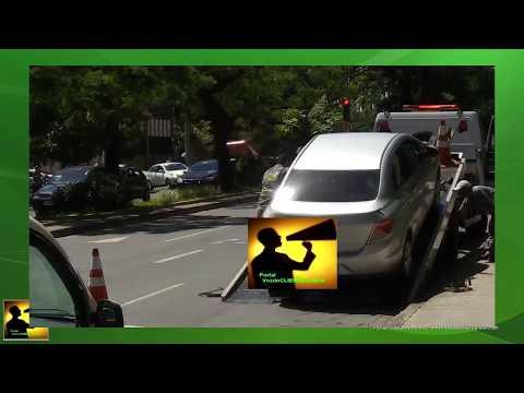 BHTRANS reboca carro sem dó! Motorista abusou sorte Pç Floriano Peixoto em BH/MG - Voz do CLIENTE
