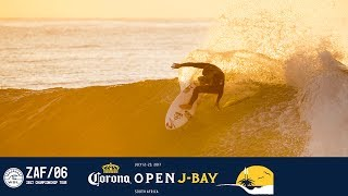 A lay day is called on opening day of the 2017 Corona Open J-Bay waiting period. Dive on into the details with Ronnie Blakey,...
