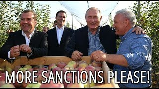 Video Putin Jokes With Farmers: We Can Defend Ourselves With The Russian Big Apples MP3, 3GP, MP4, WEBM, AVI, FLV Januari 2019