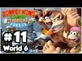 Donkey Kong Country Tropical Freeze Co-Op - Part 11 - World 6: DK Island 2/3 (100% 1080p Wii U)