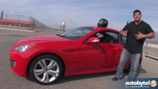 2012 Hyundai Genesis Coupe Road Test&Car Review