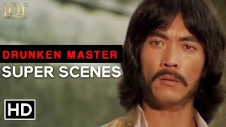 Jackie Fight Scene - Drunken Master | English | Jackie Chan | IOF