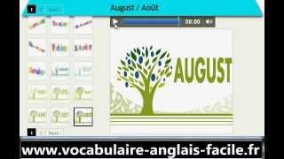Vocabulaire Anglais Les Jours, Les Mois Et Les Saisons (vocabulaire Anglais Facile)