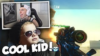 "This kid is dope lmao... Glad I decided to do some trickshotting with this cool fan! Leave a like for more bo2 trickshotting videos :DPrevious Video: https://youtu.be/ZZmIy58oxSwSubscribe: http://bit.ly/16JaOpTApparel: https://electronicgamersleague.com/collections/tenser► FOLLOW ALL MY SOCIAL MEDIATwitter: http://www.twitter.com/TenserInstagram: http://www.instagram.com/TenserTwitch: http://www.twitch.tv/TenserSnapchat: byTenser10% Gamma Labs Discount Code ""TENSER""http://www.gfuel.comDON'T FORGET TO LEAVE A LIKE IF YOU ENJOYED!"