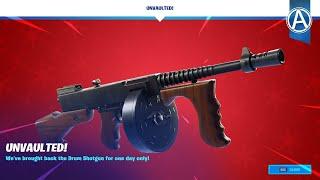 Drum Gun UNVAULTED! // 3000+ Wins - Fortnite Chapter 2 (Fortnite Battle Royale LIVE)