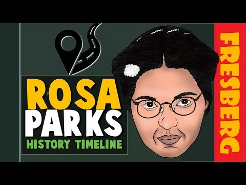 Leadership quotes - Black History Month: Rosa Parks Biography Facts  Educational Cartoon for Kids