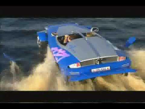 Amphibienauto - Cooler als James Bond.Also wir haben hier schon echt viel gesehen. Aber ein Auto das auf Land sowie auf Wasser fahren kann. Echt...