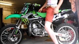 9. Kawasaki Kx 85 2007 Cold Start