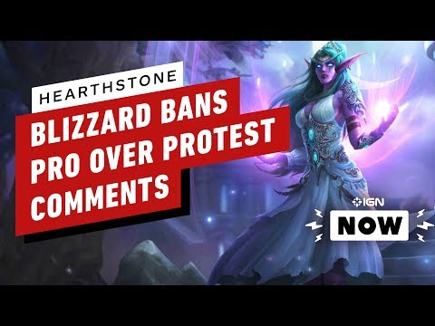 Blizzard Bans Hearthstone Pro Over Hong Kong Protest Comments - IGN Now