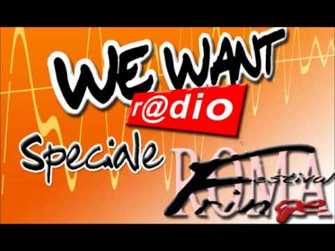 WE WANT radio intervista Francesca Tomassoni.wmv