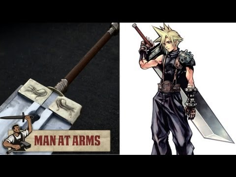Building Clouds Buster Sword (Final Fantasy VII) - MAN AT ARMS_Sz�m�t�g�p, UFO �szlel�sek, mobil, internet vide�k: