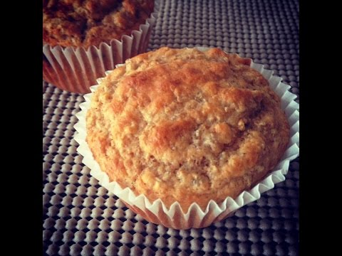 Healthy Muffins Recipe with cooked steel cut oats ( Easy Breakfast recipes)