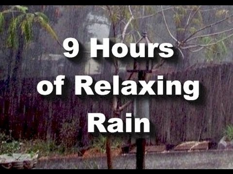 rain - Nine continuous hours of the relaxing sound of rain. We combined many of our rain sounds for this new recording that will last all night long. Occasional dis...