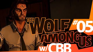 The Wolf Among Us w/ POKEAIMMD & CBB! - Ep 5 JERSEY by PokeaimMD