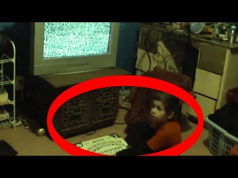 GHOST VIDEO!  SCARY!  REAL GHOSTS CAUGHT ON TAPE!