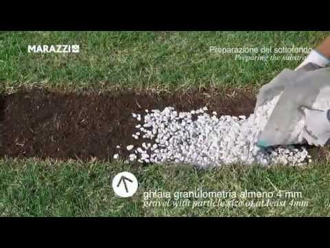 20mm Porcelain -  Laying on Grass Tutorial