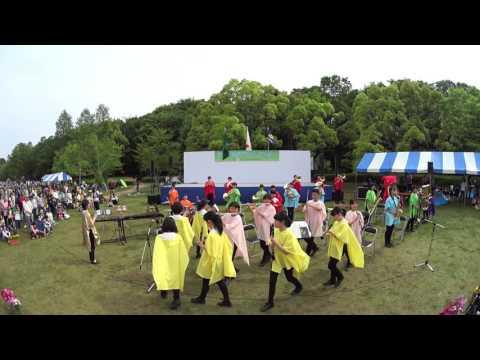 [2016-05-03][1446][4K]チャンプスの「テキーラ」<松戸私立和名ケ谷中学校吹奏楽部:第43回松戸市こども祭り:松戸市21世紀の森と広場>