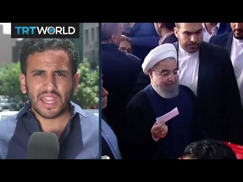 Iranian state TV report Rouhani has won the election