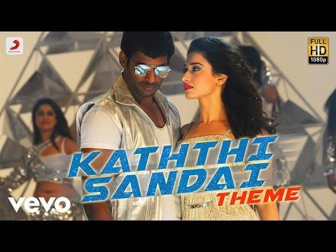 Kaththi Sandai - Kaththi Sandai Theme Music | Vishal | Hiphop Tamizha
