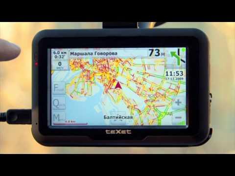 GPS-навигатор teXet TN-600 Voice