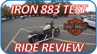 10. 2016 Harley Iron 883 - Test Ride Review