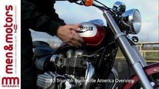 9. 2002 Triumph Bonneville America Overview