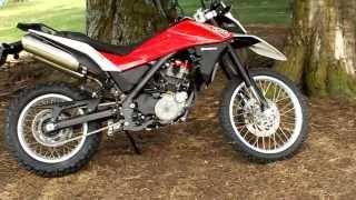 8. KiwiRider Test Bike. Husqvarna TR650 Terra