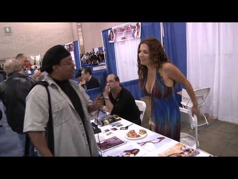 Nidia Guenard WWE Diva Superstar Interviewed by Delphia's James Young