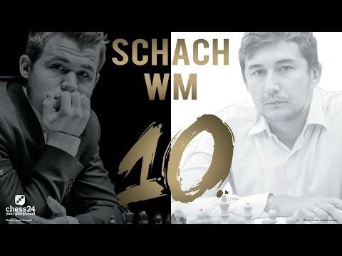 Schach WM 2016: Carlsen - Karjakin Partie 10 Schach W ...