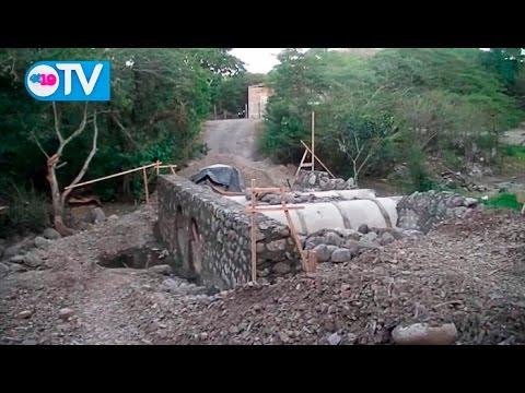 Alcaldia de Estelí y MTI construyen Puente en la Comunidad La Estanzuela
