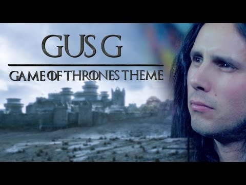 OZZY's Guitarist does GAME OF THRONES theme Ozzified!