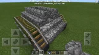 HOW TO BUILD A WORKING TANK | Minecraft PE