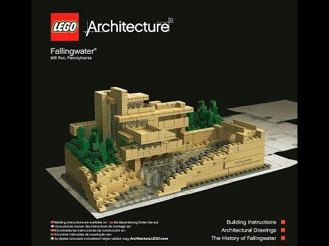 LEGO Architecture Fallingwater 21005 Instructions DIY