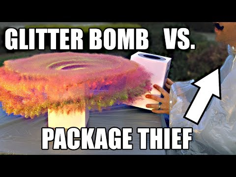 The Hilarious Glitter Bomb Trap