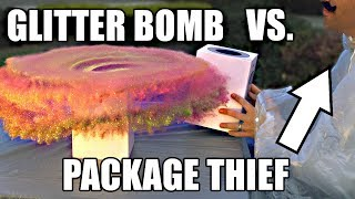 Video Package Thief vs. Glitter Bomb Trap MP3, 3GP, MP4, WEBM, AVI, FLV Maret 2019